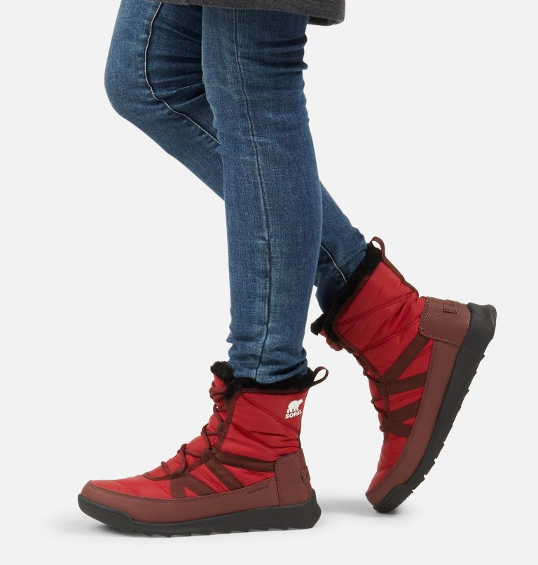 WHITNEY™ II SHORT LACE   660   6.5 Women's Whitney™ II Short Lace Boot, Red Dahlia, a9