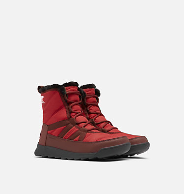 Bota Whitney™ II Short Lace para mujer WHITNEY™ II SHORT LACE | 326 | 10, Red Dahlia, 3/4 front