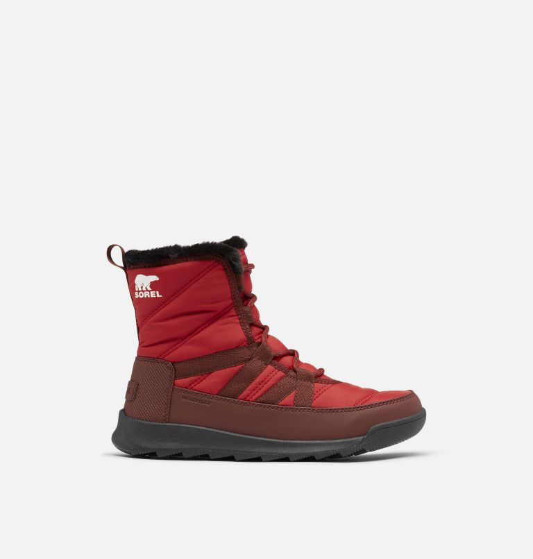 WHITNEY™ II SHORT LACE | 660 | 9.5 Women's Whitney™ II Short Lace Boot, Red Dahlia, front