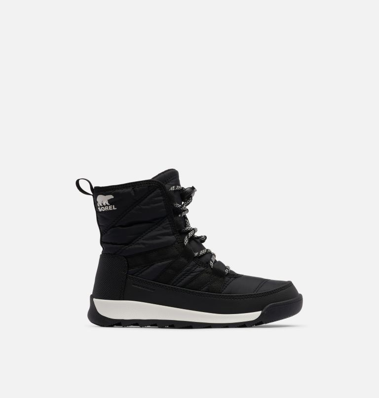YOUTH WHITNEY™ II SHORT LACE | 010 | 1 Youth Whitney™ II Short Lace Boot, Black, front