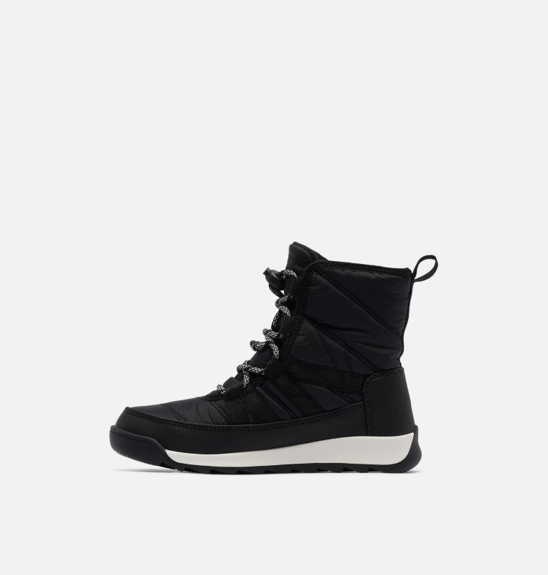 YOUTH WHITNEY™ II SHORT LACE | 010 | 4.5 Youth Whitney™ II Short Lace Boot, Black, medial