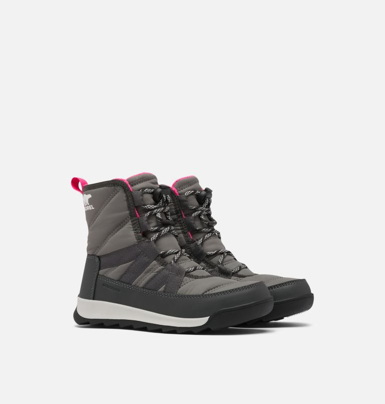 YOUTH WHITNEY™ II SHORT LACE | 052 | 7 Youth Whitney™ II Short Lace Boot, Quarry, 3/4 front