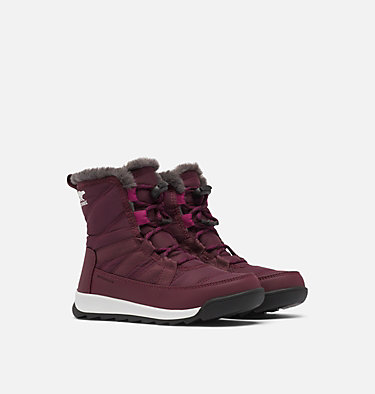 Youth Whitney™ II Short Lace Boot YOUTH WHITNEY™ II SHORT LACE | 286 | 1, Epic Plum, 3/4 front