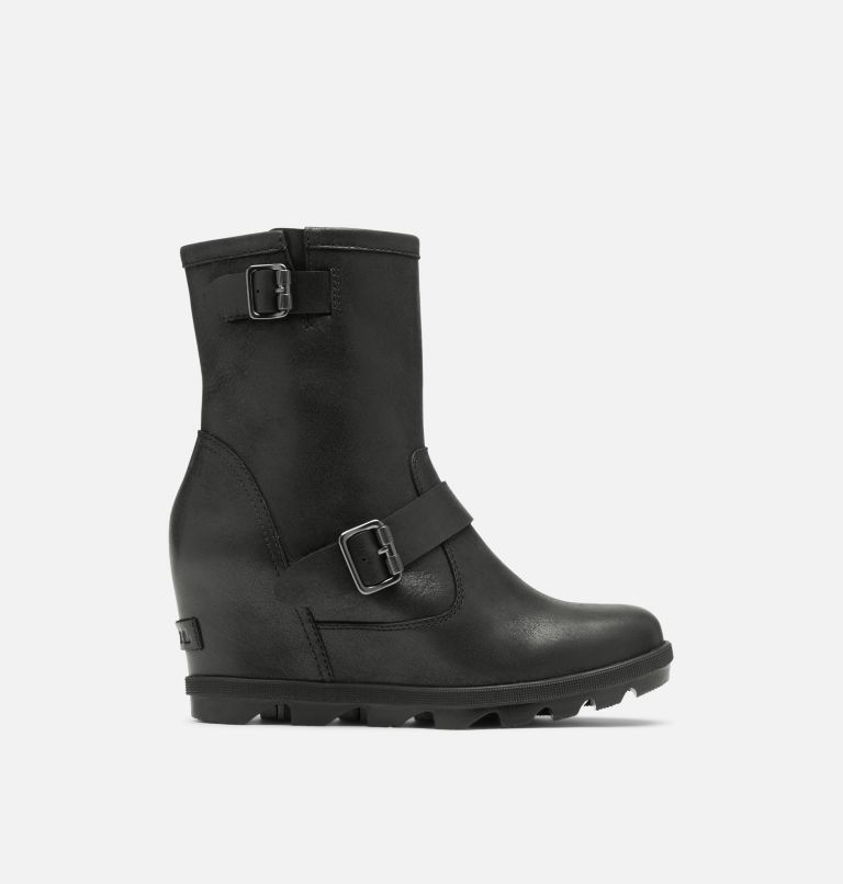JOAN OF ARCTIC™ WEDGE II BOOT | 010 | 6.5 Women's Joan Of Arctic™ Wedge II Moto Boot, Black, front