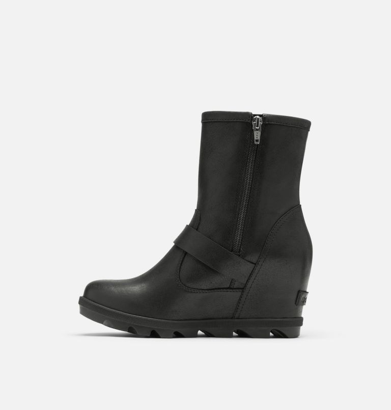 JOAN OF ARCTIC™ WEDGE II BOOT | 010 | 9.5 Women's Joan Of Arctic™ Wedge II Moto Boot, Black, medial