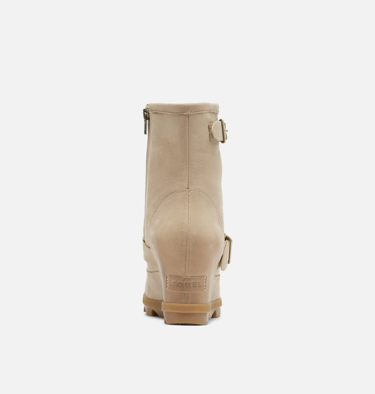 JOAN OF ARCTIC™ WEDGE II BOOT | 251 | 9 Women's Joan Of Arctic™ Wedge II Moto Boot, Sandy Tan, back