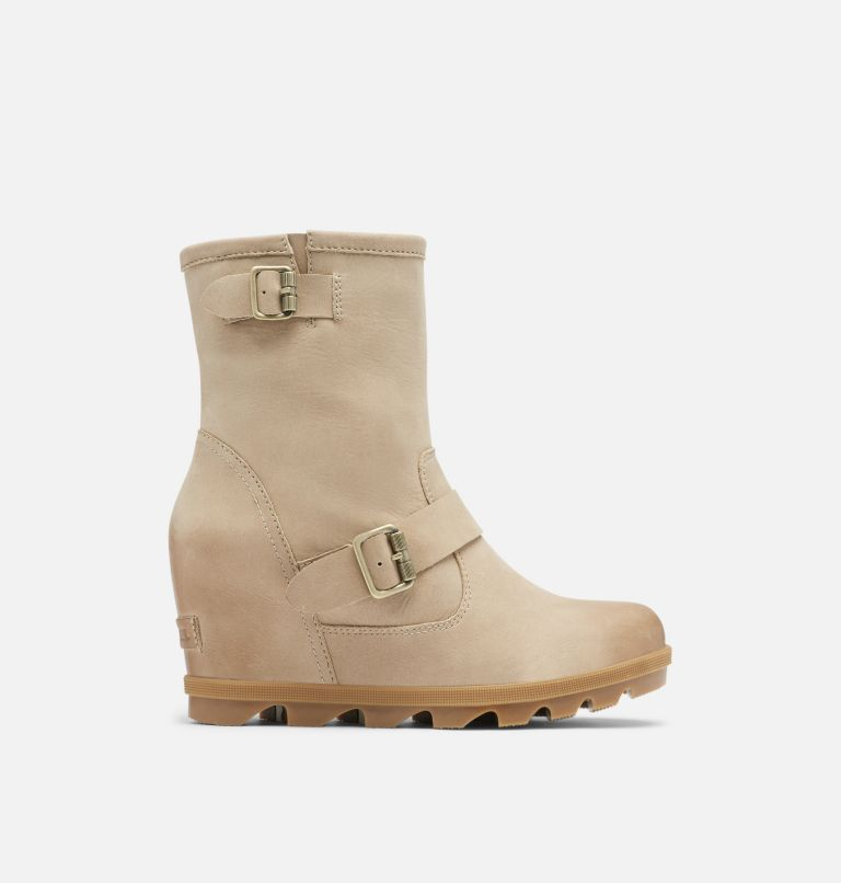JOAN OF ARCTIC™ WEDGE II BOOT | 251 | 9 Women's Joan Of Arctic™ Wedge II Moto Boot, Sandy Tan, front