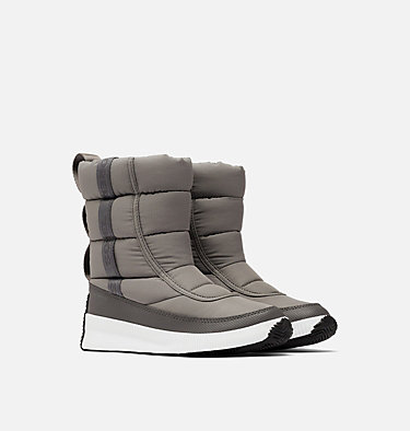 Women's Out N About™ Puffy Mid Boot OUT N ABOUT™ PUFFY MID | 052 | 10, Quarry, 3/4 front