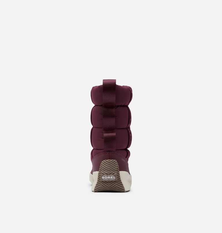 OUT N ABOUT™ PUFFY MID | 543 | 6.5 Women's Out N About™ Puffy Mid Boot, Epic Plum, back