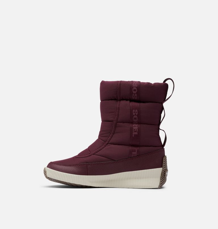 OUT N ABOUT™ PUFFY MID | 543 | 6.5 Women's Out N About™ Puffy Mid Boot, Epic Plum, medial