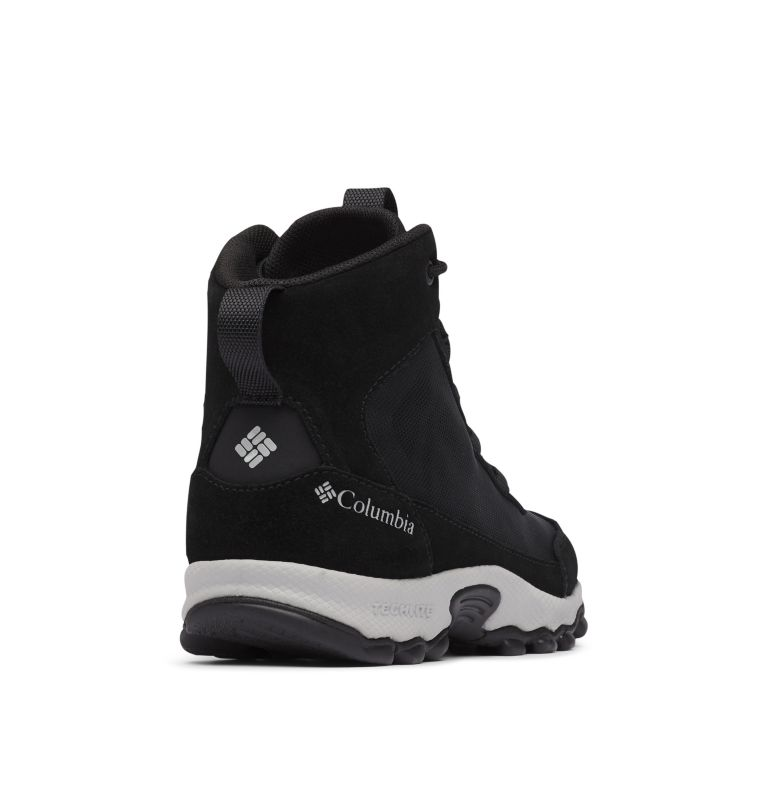 YOUTH FLOW™ BOROUGH MID | 010 | 2 Youth Flow Borough Shoe , Black, Steam, 3/4 back