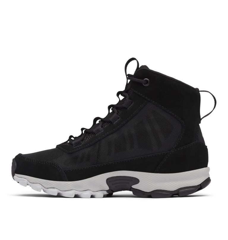 YOUTH FLOW™ BOROUGH MID | 010 | 2 Youth Flow Borough Shoe , Black, Steam, medial