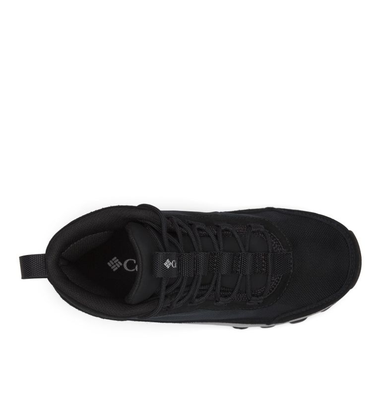YOUTH FLOW™ BOROUGH MID | 010 | 2 Youth Flow Borough Shoe , Black, Steam, top