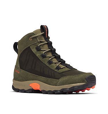 Youth Flow Borough Shoe  YOUTH FLOW™ BOROUGH MID | 010 | 1, Nori, Tangy Orange, 3/4 front