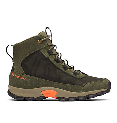 Flow Borough Schuhe Junior  YOUTH FLOW™ BOROUGH MID | 010 | 4.5, Nori, Tangy Orange, front