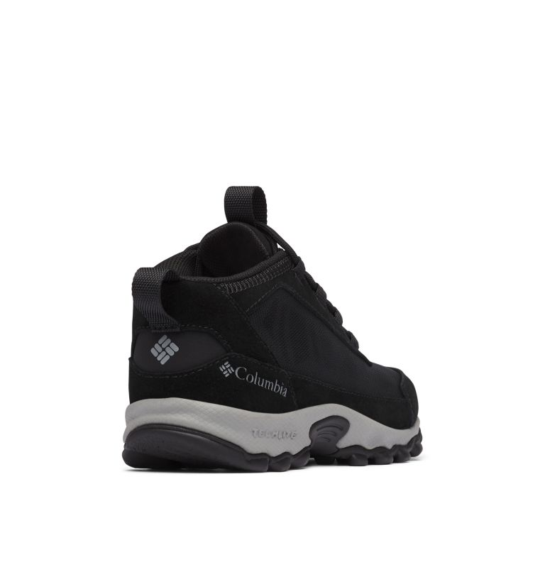 YOUTH FLOW™ BOROUGH | 010 | 2 Big Kids' Flow Borough™ Shoe, Black, Monument, 3/4 back