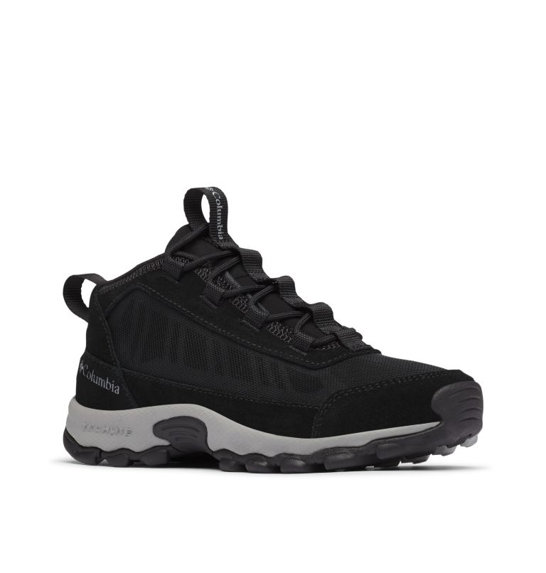 YOUTH FLOW™ BOROUGH | 010 | 2 Big Kids' Flow Borough™ Shoe, Black, Monument, 3/4 front