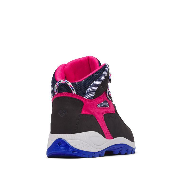 NEWTON RIDGE™ WP | 010 | 14 Men's Newton Ridge™ Waterproof Hiking Boot - Icons, Black, Cactus Pink, 3/4 back