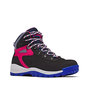 Men's Newton Ridge™ Waterproof Hiking Boot - Icons NEWTON RIDGE™ WP | 010 | 10, Black, Cactus Pink, 3/4 front