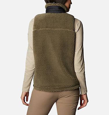 Women's Archer Ridge™ II Vest W Archer Ridge™ II Vest | 191 | L, Stone Green, Bright Geranium, back