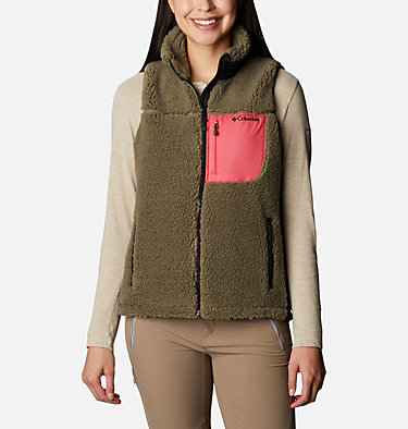 Women's Archer Ridge™ II Vest W Archer Ridge™ II Vest | 191 | L, Stone Green, Bright Geranium, front