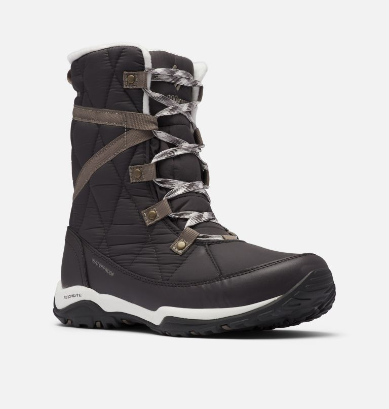 CASCARA™ OMNI-HEAT™ | 089 | 8.5 Women's Cascara™ Omni-Heat™ Boot, Dark Grey, Kettle, 3/4 front