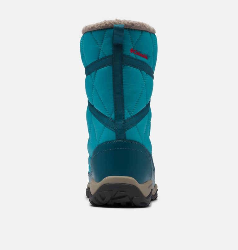 CASCARA™ OMNI-HEAT™ | 330 | 7.5 Women's Cascara™ Omni-Heat™ Boot, Teal, Poppy Red, back