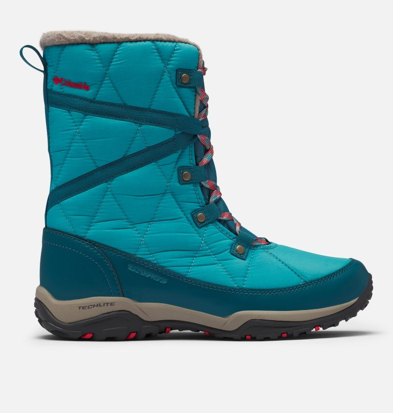 CASCARA™ OMNI-HEAT™ | 330 | 7.5 Women's Cascara™ Omni-Heat™ Boot, Teal, Poppy Red, front