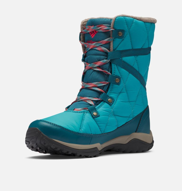 CASCARA™ OMNI-HEAT™ | 330 | 7.5 Women's Cascara™ Omni-Heat™ Boot, Teal, Poppy Red