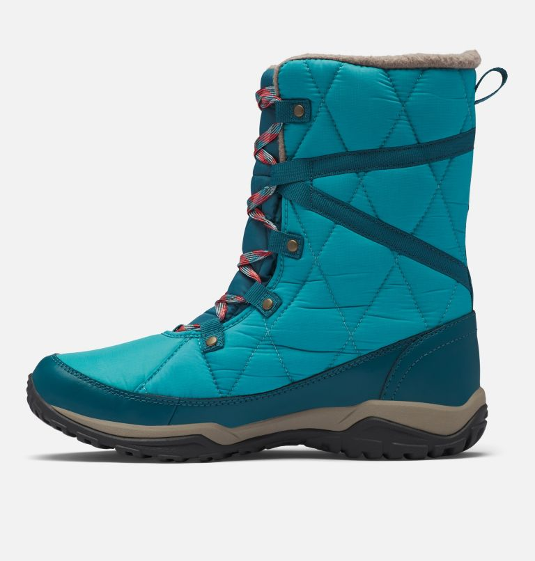 CASCARA™ OMNI-HEAT™ | 330 | 8.5 Women's Cascara™ Omni-Heat™ Boot, Teal, Poppy Red, medial