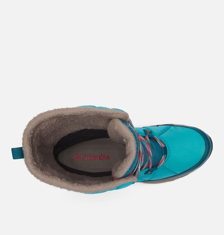 CASCARA™ OMNI-HEAT™ | 330 | 8.5 Women's Cascara™ Omni-Heat™ Boot, Teal, Poppy Red, top