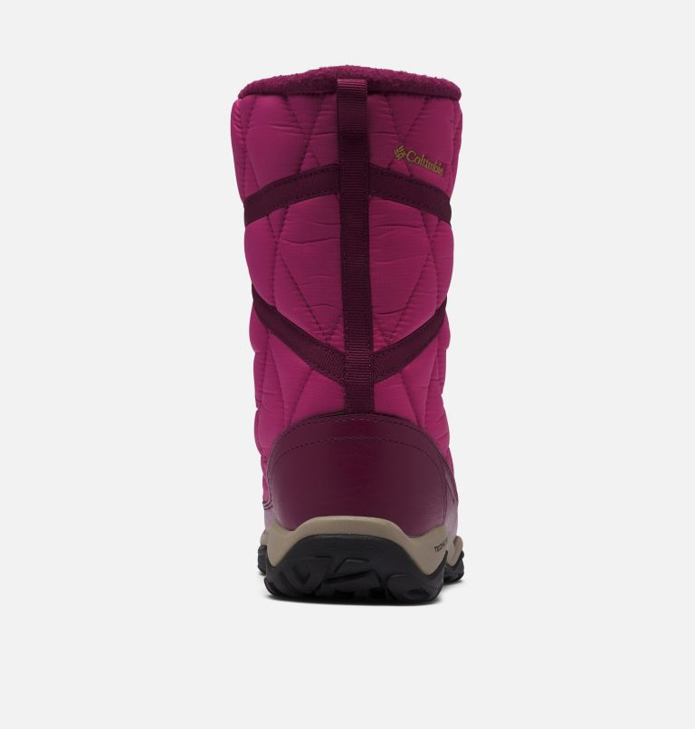 CASCARA™ OMNI-HEAT™ | 642 | 11 Women's Cascara™ Omni-Heat™ Boot, Dark Fuchsia, River Blue, back