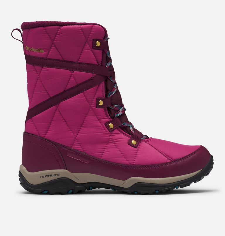 CASCARA™ OMNI-HEAT™ | 642 | 6.5 Women's Cascara™ Omni-Heat™ Boot, Dark Fuchsia, River Blue, front