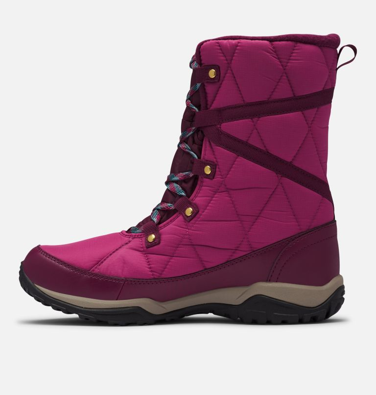 CASCARA™ OMNI-HEAT™ | 642 | 6.5 Women's Cascara™ Omni-Heat™ Boot, Dark Fuchsia, River Blue, medial