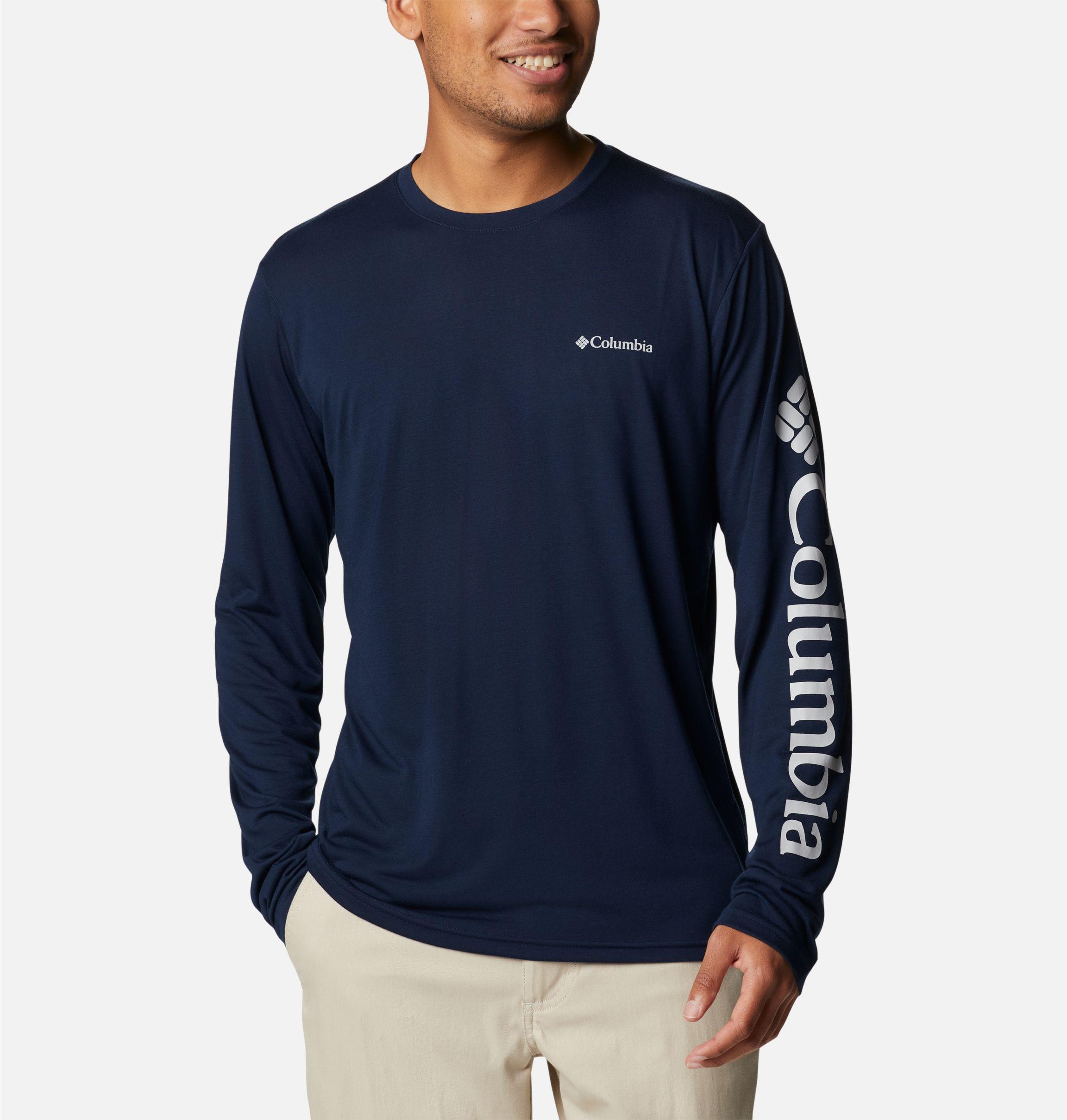 Columbia Men's Marshall Valley Long Sleeve Logo Shirt