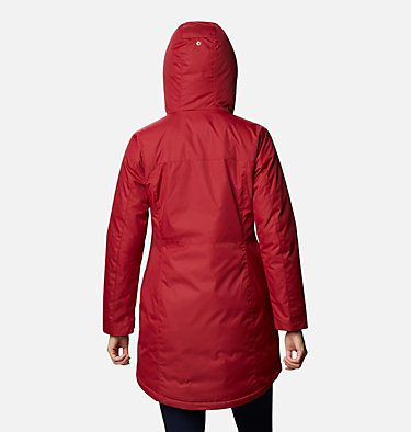 Women's Mountain City™ Long Jacket Mountain City™ Long Jacket   607   L, Beet, back