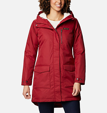 Women's Mountain City™ Long Jacket Mountain City™ Long Jacket   607   L, Beet, front