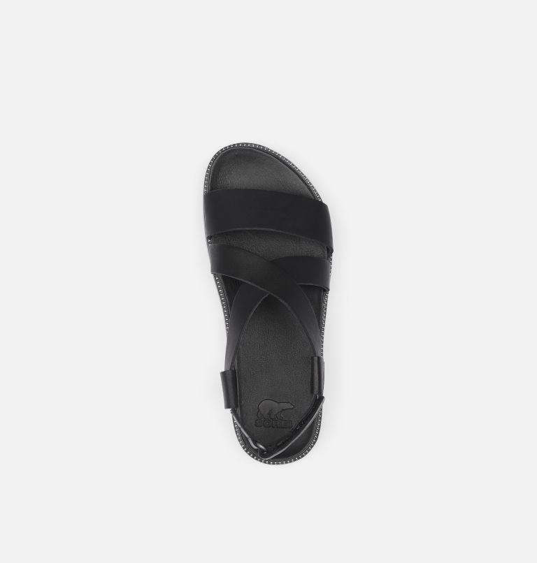 ROAMING™ CRISS CROSS SANDAL | 010 | 6.5 Womens Roaming™ Criss Cross Sandal, Black, top