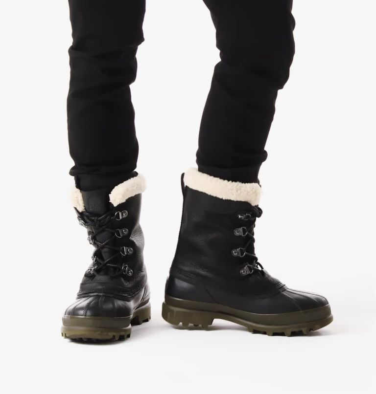 Men's Caribou™ Stack Waterproof Boot Men's Caribou™ Stack Waterproof Boot, video