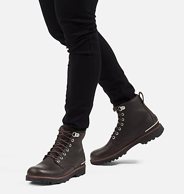 Men's Caribou™ Six Waterproof Boot CARIBOU™ SIX WP | 205 | 10, Blackened Brown, video