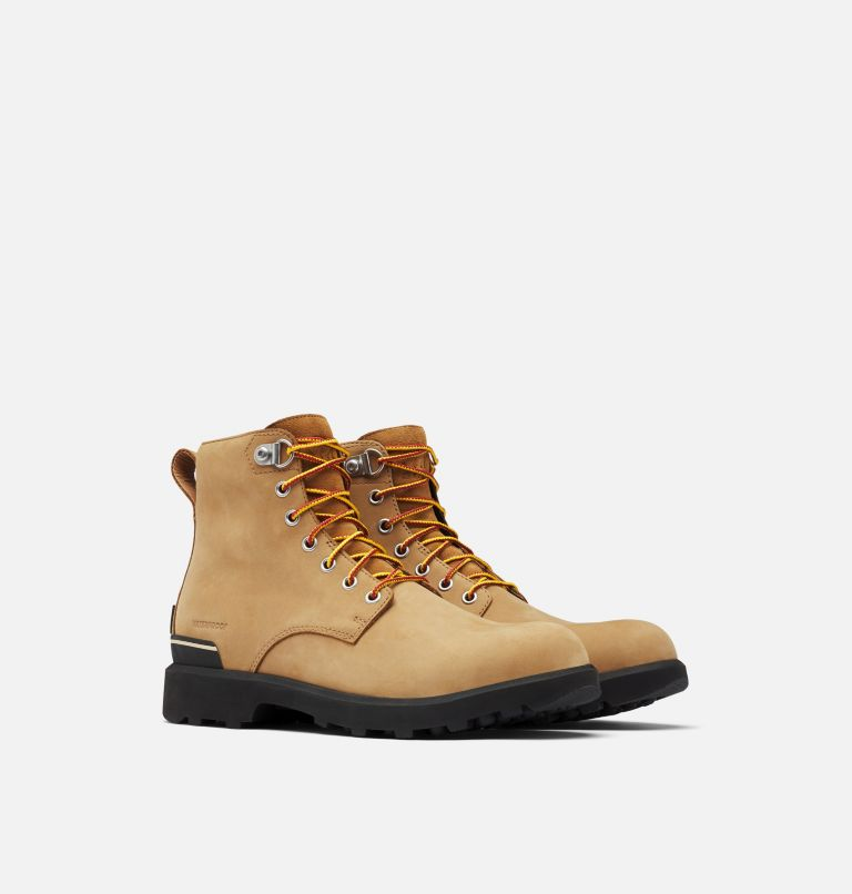 CARIBOU™ SIX WP | 281 | 7 Men's Caribou™ Six Waterproof Boot, Buff, 3/4 front