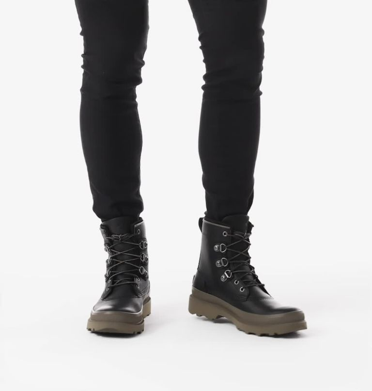 CARIBOU™ STREET WP | 010 | 11.5 Men's Caribou™ Street Boot, Black, video