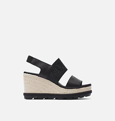 Sandale compensée à lacets Joanie™ II pour femme JOANIE™ II SLINGBACK JUTE | 224 | 10, Black, front