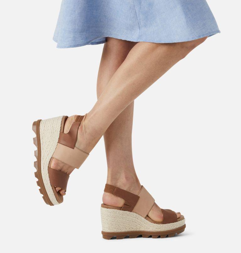 JOANIE™ II HI SLINGBACK   242   10.5 Womens Joanie™ II Hi Siingback Wedge Sandal, Velvet Tan, a9