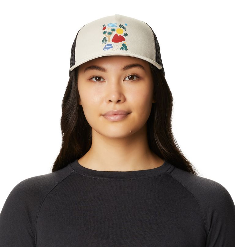 Desertscape™ Trucker Hat   104   O/S Women's Desertscape™ Trucker Hat, Cotton, front