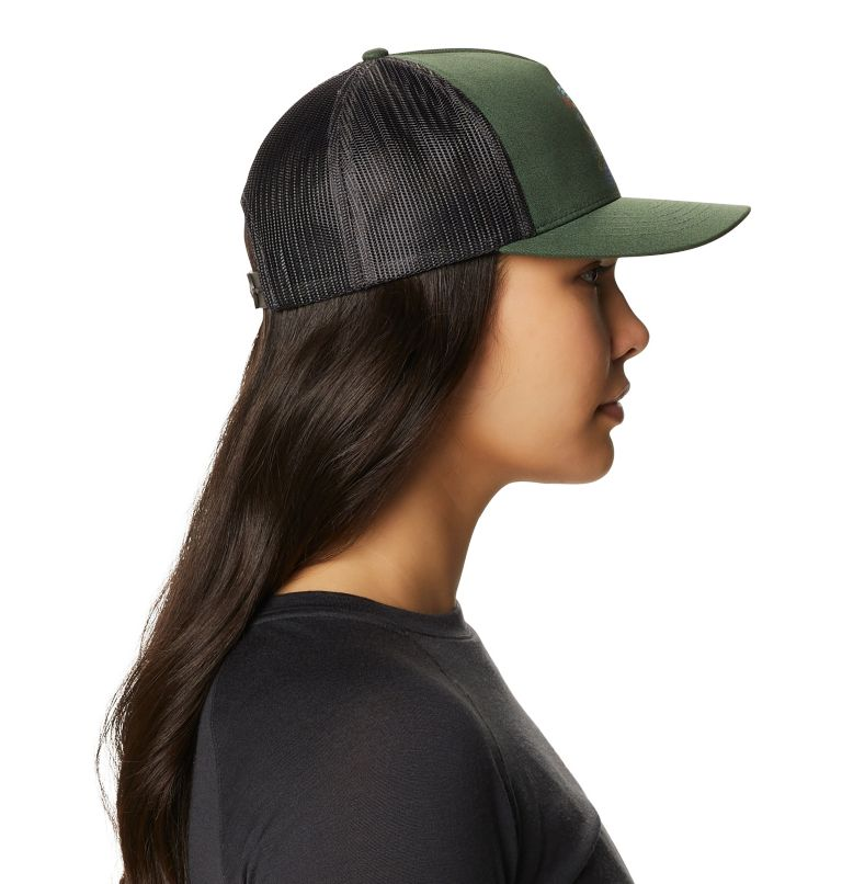 Desertscape™ Trucker Hat | 352 | O/S Women's Desertscape™ Trucker Hat, Black Spruce, a2
