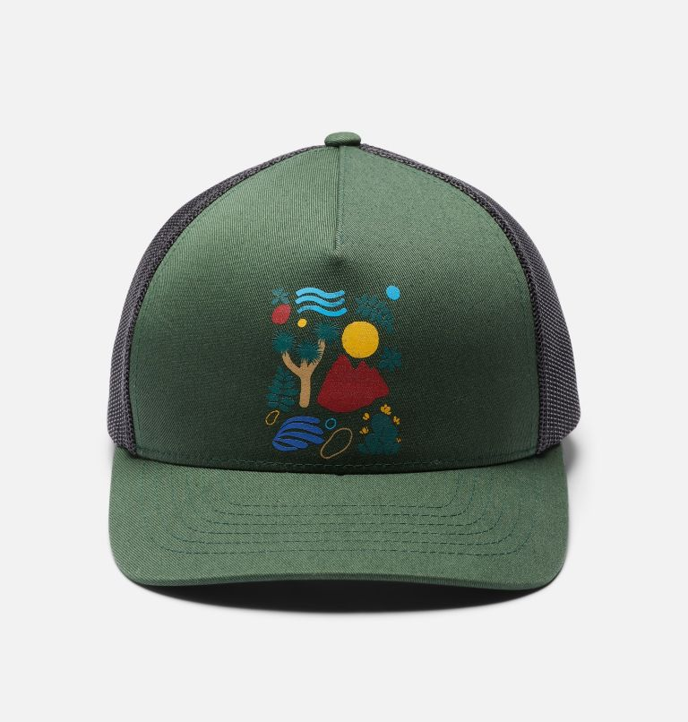 Desertscape™ Trucker Hat | 352 | O/S Women's Desertscape™ Trucker Hat, Black Spruce, a6