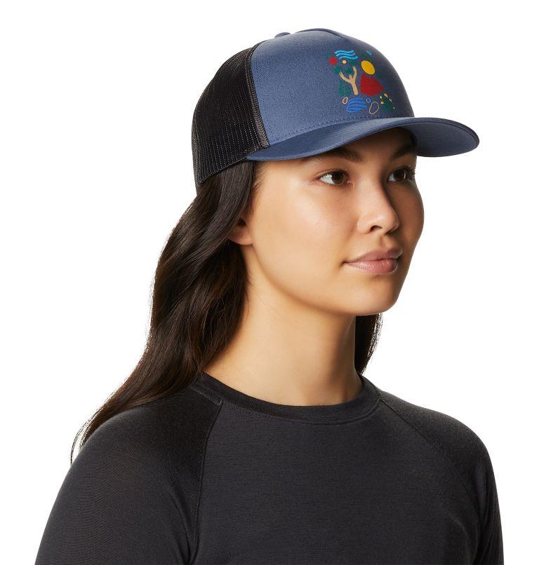 Desertscape™ Trucker Hat | 445 | O/S Women's Desertscape™ Trucker Hat, Northern Blue, a1