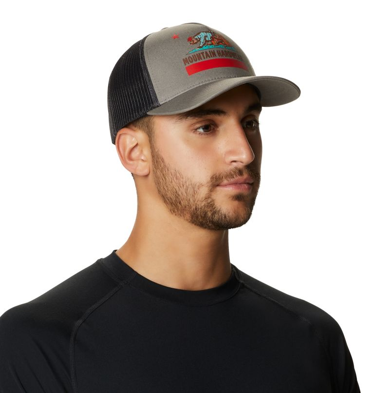 Hardwear Bear Flag™ Trucker Hat | 073 | O/S Hardwear Bear Flag™ Trucker Hat, Manta Grey, a1