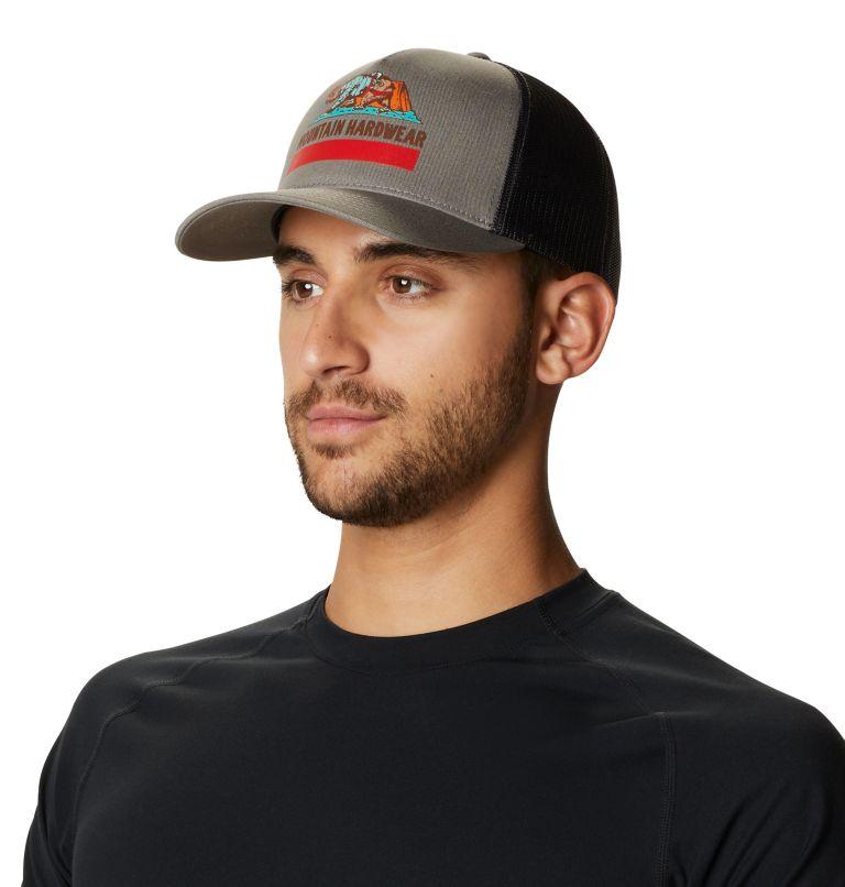 Hardwear Bear Flag™ Trucker Hat | 073 | O/S Hardwear Bear Flag™ Trucker Hat, Manta Grey, a3